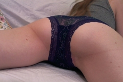 Blue Paisley Panties